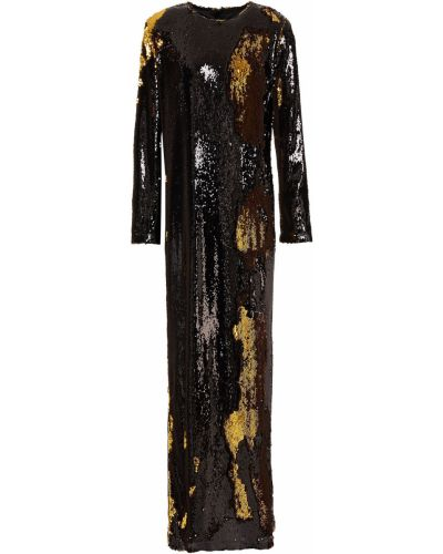 Sukienka długa tiulowa z cekinami Marques Almeida