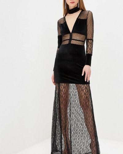 Вечернее платье черное Mirasezar