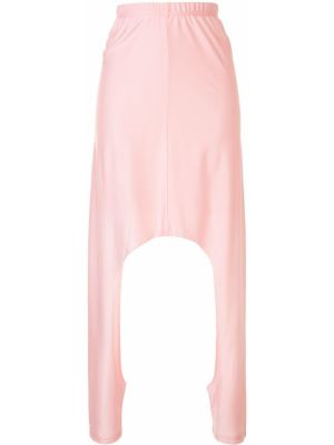 Спортивные брюки розовый с заниженной талией Comme Des Garçons