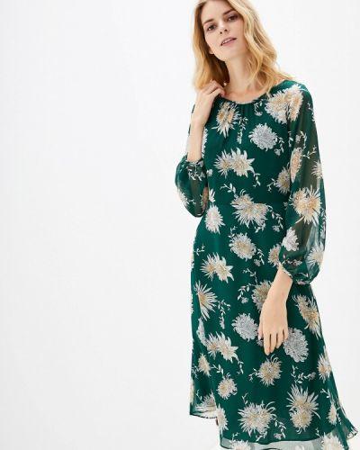 Повседневное платье осеннее зеленый Wallis
