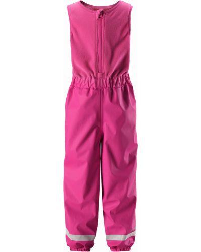 Брюки теплые розовый Reima