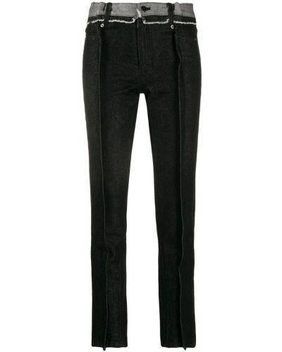 Черные брюки узкого кроя Youser