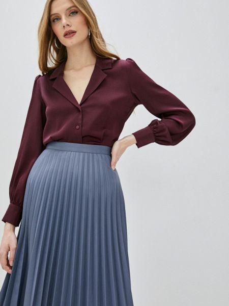Блузка с длинным рукавом бордовый весенний Ovs