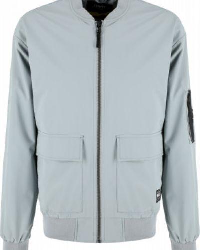 Свободная трикотажная серая куртка Termit