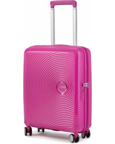 Walizka - różowa American Tourister