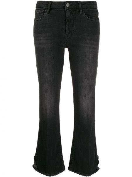 Укороченные джинсы mom с накладными карманами Frame