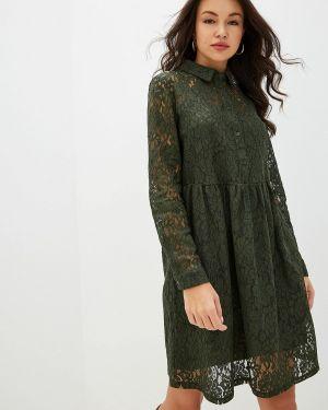 Платье платье-рубашка осеннее Ichi