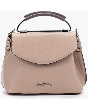 Кожаная сумка через плечо розовый Jane Shilton