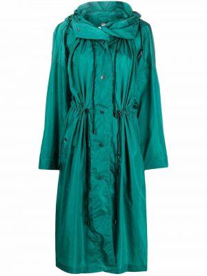 Płaszcz przeciwdeszczowy - zielony Isabel Marant