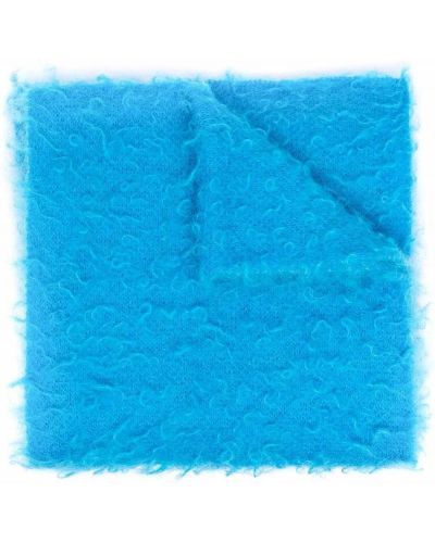 Szalik wełniany - niebieski Roberto Collina