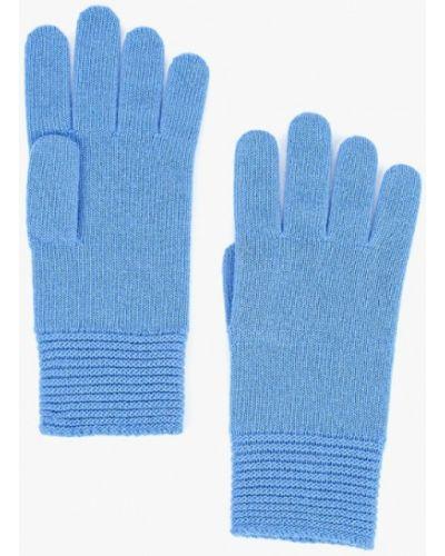 Голубые перчатки текстильные United Colors Of Benetton