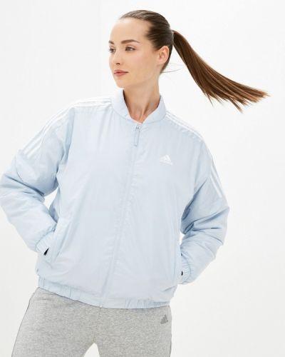 Утепленная куртка - голубая Adidas