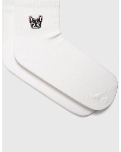 Носки однотонные - белые Fulloff