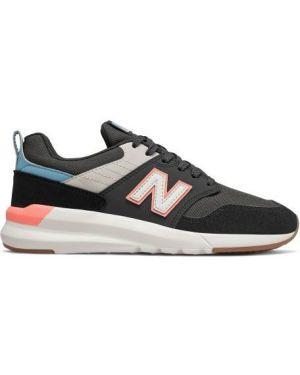 Sneakersy zamszowe białe New Balance