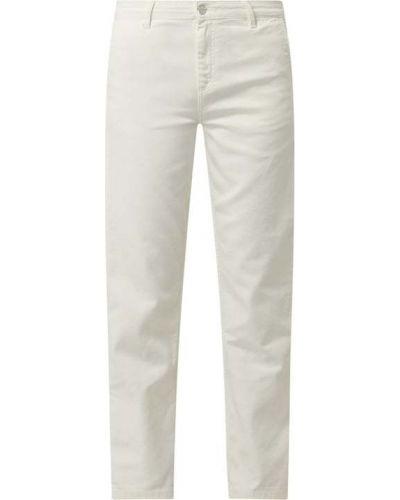 Mom jeans bawełniane - białe Carhartt Work In Progress