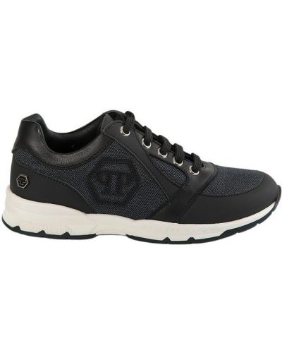Czarne sneakersy skorzane Philipp Plein