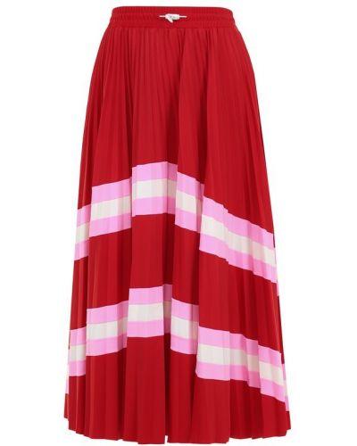 Плиссированные юбки Valentino