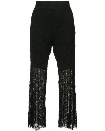 Укороченные брюки - черные Lost & Found Ria Dunn