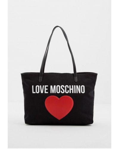 Сумка черная Love Moschino