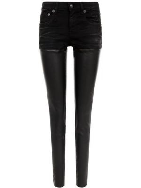 Зауженные джинсы - черные R13