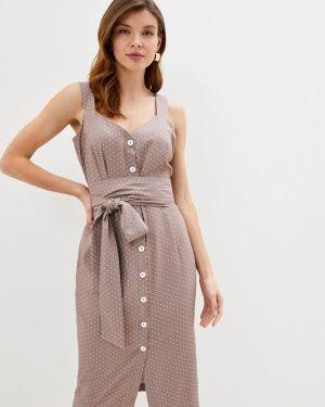 Платье платье-сарафан бежевое Trendyangel
