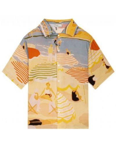 Pomarańczowa koszula Drole De Monsieur