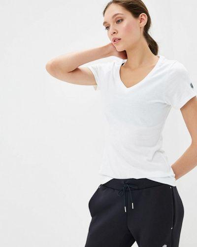 Белая футболка 2019 Asics