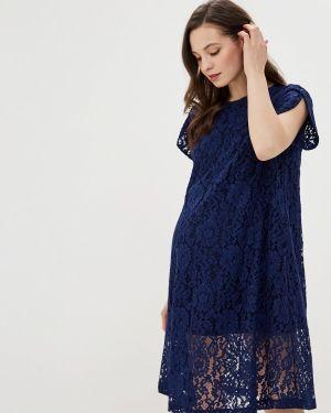 Платье синее Mammysize