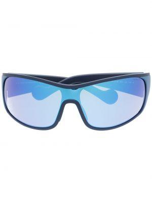 Солнцезащитные очки хаки квадратные Moncler Eyewear