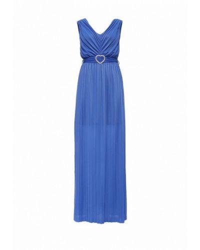 Синее вечернее платье Rinascimento