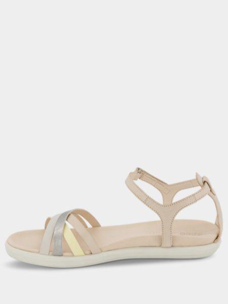 Бежевые сандалии Ecco