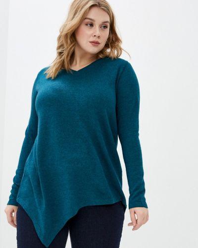 Бирюзовый пуловер Sophia