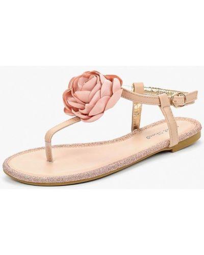 Розовые сандалии резиновые Sweet Shoes