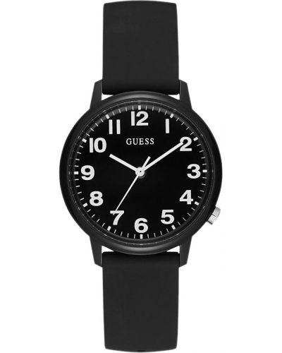 Водонепроницаемые часы черные кварцевые Guess Originals