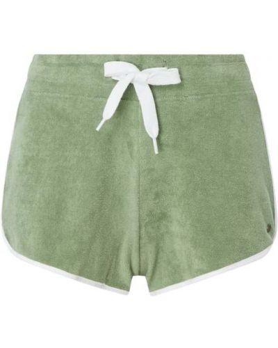 Zielone szorty bawełniane Shiwi