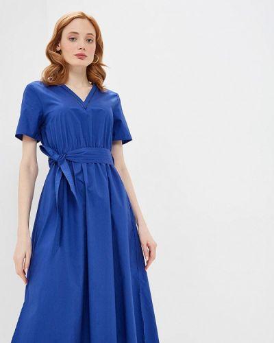 Повседневное платье синее черное Pennyblack