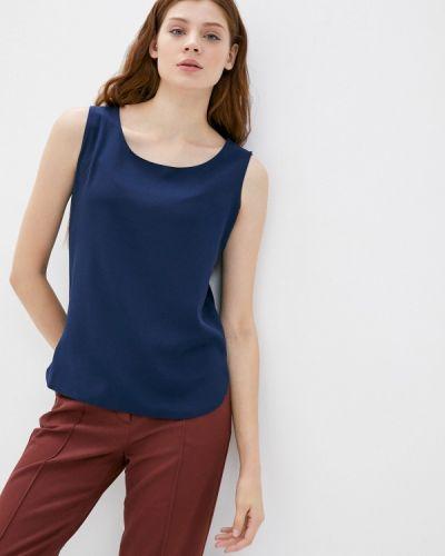Свободный синий топ свободного кроя Samos Fashion Group