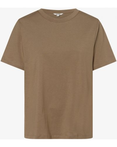 Beżowa koszulka oversize Mbym