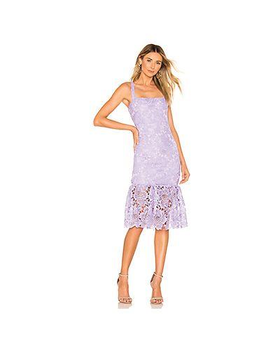 Платье миди с вышивкой на молнии Lovers + Friends