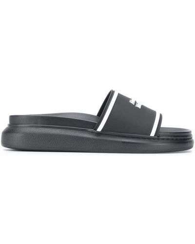 Białe sandały Alexander Mcqueen