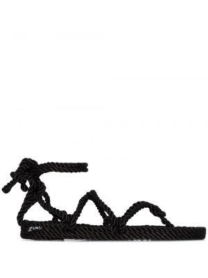Сандалии с ремешками - черные Nomadic State Of Mind®