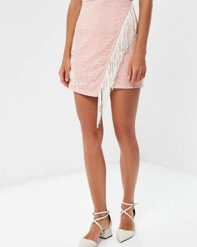 Розовая юбка Glamorous