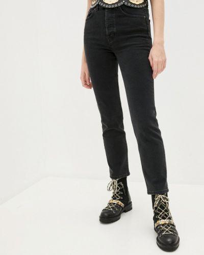 Прямые черные прямые джинсы The Kooples