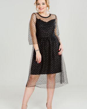 Платье сетчатое платье-сарафан марита