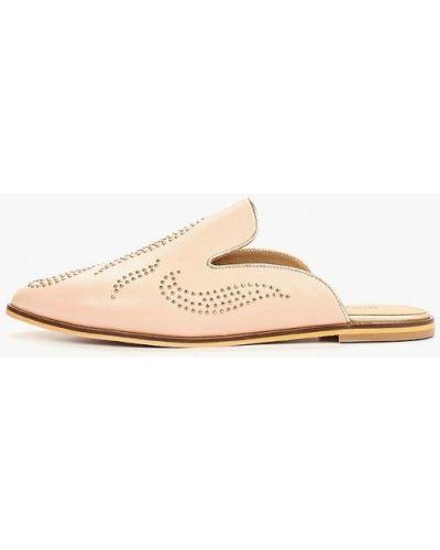 Сабо розовый на каблуке Dolce Vita