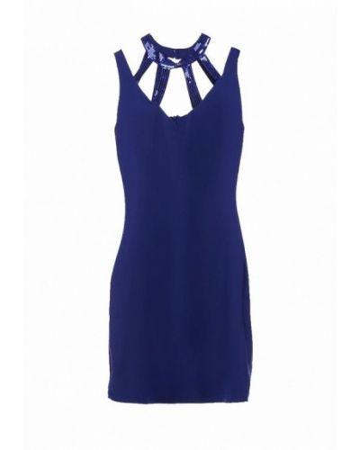 Синее коктейльное платье Catch