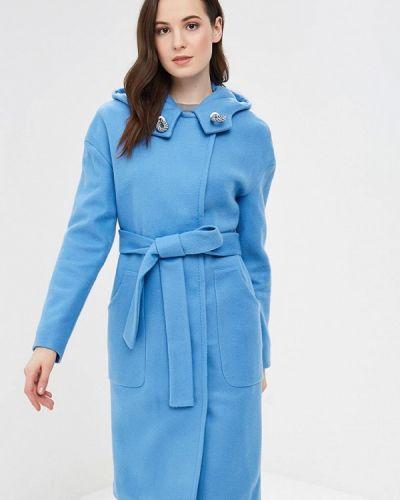 Пальто демисезонное голубое Grand Style