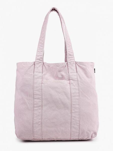 Фиолетовая текстильная сумка шоппер с камнями Gap