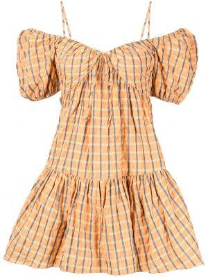 Желтое платье на бретелях Cinq À Sept