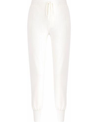 Укороченные брюки в рубчик из вискозы Ermanno Scervino